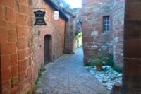 historic alleyways Collonges-les-Rouges